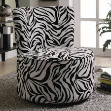 zebra living room set gorgeous zebra living room set using round swivel lounge chair from