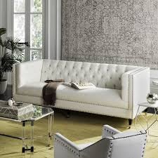 modern tufted leather sofa furniture simple tufted leather sofa for luxury sofa design ideas