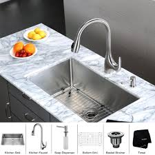 Stainless Steel Grid For Kitchen Sink stainless steel kitchen sink combination kraususa com