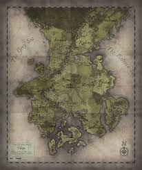 Fantasy World Map by Paid Taken Fantasy World Map