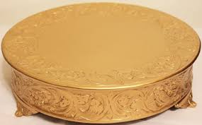 gold wedding cake stand belmont 14 inch matte gold wedding cake stand