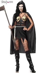 scary costume dealer executioner costume scary costume skull dress costume