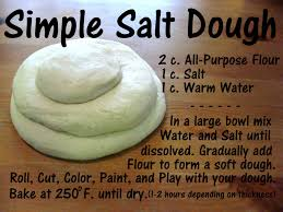 simple salt dough activities plays and summer