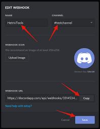 discord integration discord integration hetrixtools