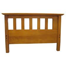 mission 8 inch cotton foam futon sofa sleeper oak wood finish