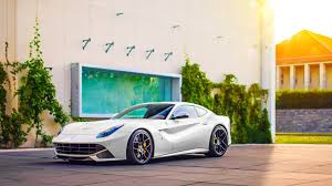 ferrari f12 wallpaper ferrari f12 berlinetta white supercar side view 4k desktop