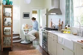 narrow galley kitchen design ideas galley layout small kitchen design idea southern living galley