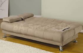 Microfiber Futon Couch 346 45 Beige Microfiber Convertible Sofa Bed With Removable
