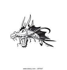 dragon tattoo design stock photos u0026 dragon tattoo design stock