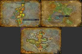 Wow Kalimdor Map Instance Portals Map U0026 Minimap World Of Warcraft Addons Curse
