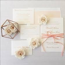 wedding invitations rose rose gold foil invitations wedding oc wedding planner blush