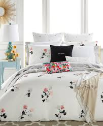 Mediterranean Style Bedding Kate Spade New York Willow Court Blush Full Queen Duvet Cover Set
