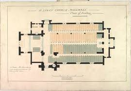 Anglican Church Floor Plan by A Pictorial History Of St Luke U0027s Church Millwall Isle Of Dogs