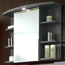 Bathroom Mirror And Shelf Mirror With Shelves Door Storage Cabinet Valuable