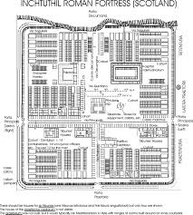 Roman Villa Floor Plans by Roman Military Camps Of The 1st And 2nd Century