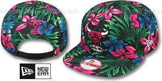 floral snapback bulls bloom snapback hat by new era at hatland