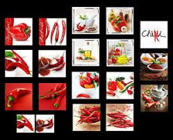 glasbilder küche glasbilder deko wand bild deco glass float glas gemüse pepperoni