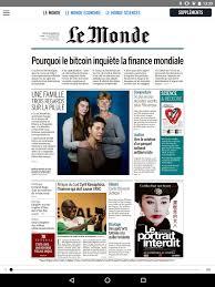si鑒e du journal le monde journal le monde应用排名和商店数据 app
