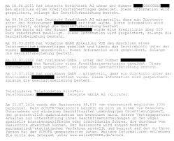 free schufa inquiry with this sample letter bonus