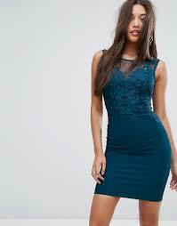 lipsy michelle keegan love lipsy lace applique bodycon midi dress