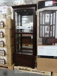 pulaski curio cabinet costco 15 ideas of pulaski curio cabinet costco