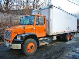 freightliner used trucks 2000 freightliner fl106 tandem axle box truck for sale by arthur