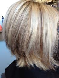 blonde high and lowlights hairstyles short blonde hair with lowlights