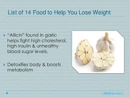 how to lose weight by eating list of 14 foods for weight loss