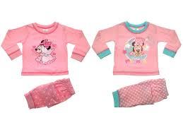 baby pyjamas toddlers disney minnie mouse pjs set me to