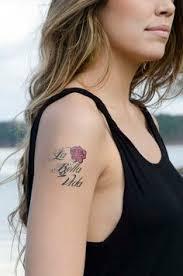 tattoo bella nyc my first tattoo la vida es bella which means life is beautiful in