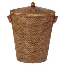 decorative laundry hampers levant rattan laundry basket oka