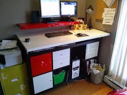 modern dry erase standing desk ikea hackers ikea hackers