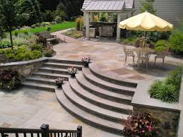 Patio Landscape Design Ideas Backyard Patio Landscaping Faun Design