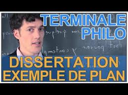 Dissertation   exemple de plan   Philosophie   Terminale   Les Bons Profs