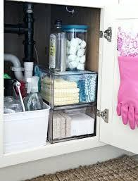 under bathroom sink organization ideas under sink organizing ideas dzine co