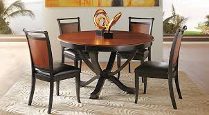Black Wood Dining Room Set Affordable Round Dining Room Sets Rooms To Go Furniture