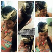 quick weave ponytail hairstyles 1000 images about short hair don