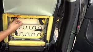guide remove cushion fix squeaking car seat mitsubishi lancer