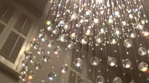 chandelier youtube bespoke cosmos chandelier with colour change led and winch youtube