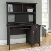 black desk with hutch desk with hutch