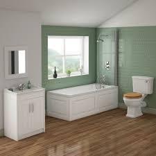Bathroom Suites With Shower Baths Alton 1500mm Shower Bath Bathroom Suite Mage 1 Suites For Small