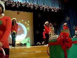 rockin around the christmas tree dance youtube