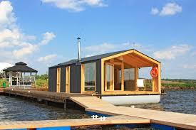gallery dubldom houseboat a modular floating cabin dubldom