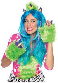 Furry Monster Halloween Costume by Womens Halloween Gloves