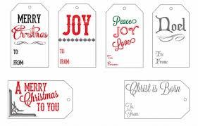 10 pinterest free christmas gift tag printable printout variety