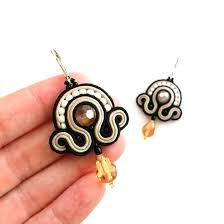 Gift For Wife Soutache Earrings U2013 Dangle Earrings Sabo Design