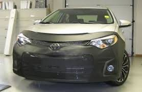 toyota corolla 2014 photos lebra front end mask cover bra fits toyota corolla 2014 2016 s and
