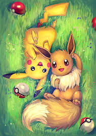 Top Eevee and Pikachu by Yuuza.deviantart.com on @DeviantArt | pokemon  #YN23