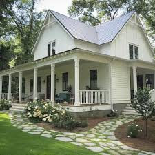 Country Home Plans With Front Porch Farmhouse Landscaping Front Yard 99 Gorgeous Photos 51