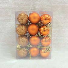 orange christmas decorations and trees ebay